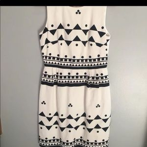 J. Crew Geometric Dress Size 0